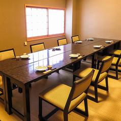 お座敷にテーブルをご準備しています人気の個室!8名様~10名様用の個室です。