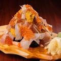 料理メニュー写真寿司タワー
