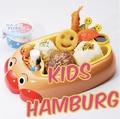 料理メニュー写真キッズハンバーグ 80g