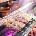 【オススメ1】鹿児島県産茶美豚×紀州備長炭を使用した『焼とん』!串打司・串焼司の職人の自信作!