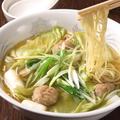 料理メニュー写真スープ麺