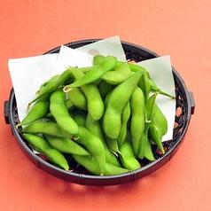 枝豆/手作り豆富/漬物5種盛合せ/たこわさび