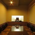 2~10名様までご利用可能なVIP個室をご用意しております。接待のご利用にも最適です。
