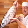 カツオのたたきやお刺身など新鮮な魚介を楽しめますよ♪