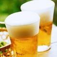 【単品飲み放題】2H単品飲み放題は1380円(税抜)でご利用頂けます!!もちろんビールも飲み放題!!