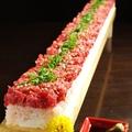 料理メニュー写真韓国風・ユッケ寿司