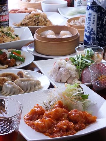 ホテルの中華レストランで料理長をしていたオーナーによる、本格的で馴染みやすい中華