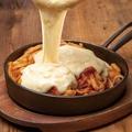 料理メニュー写真ミートチーズフォンデュパスタ