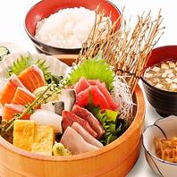 単品料理に+250円(税抜)で定食にできます!!