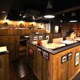 広々とした開放的な空間◎店舗貸切を承っておりますので、最大50名様でのご利用が可能です!