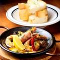 料理メニュー写真赤海老のアヒージョ