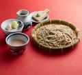 料理メニュー写真もり蕎麦 2種だれ(もりつゆ+くるみだれ)