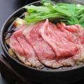 料理メニュー写真鹿児島黒牛すき焼き(単品)