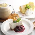 料理メニュー写真★ベリーベリーレアチーズケーキ