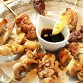 料理メニュー写真鶏焼き串10本セット