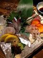 料理メニュー写真朝採れ鮮魚 お刺身盛り合わせ