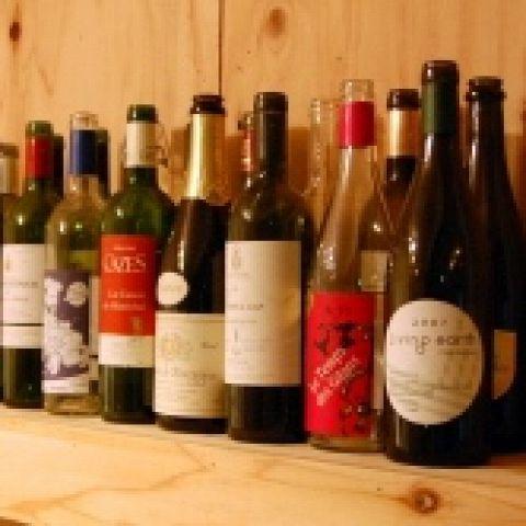 有機栽培(ビオロジック、ビオディナミ農法)にこだわって、美味しいワインを揃えました!赤、白、カヴァ、シャンパン、シードルなどなどご用意しています。