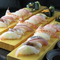 旬魚を使ったお寿司