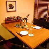 気軽なテーブル席