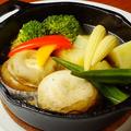 料理メニュー写真渡辺マッシュルームのアヒージョ
