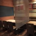 【1F】テーブル20名様半個室
