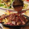 料理メニュー写真炭焼きTボーンステーキ~あま~い玉ねぎのシャリアピンソース~ 400g
