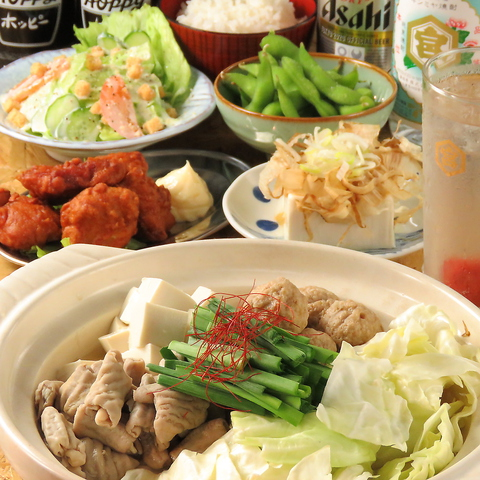 【お食事宴会】駄菓子食べ放題付!6品3時間飲み放題付 3600円