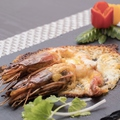 料理メニュー写真大エビのチーズ焼き