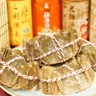 今年も!上海蟹!2.5時間飲み放題付き♪全10品5500円!