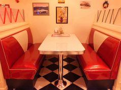 ゆったり座れるテーブル席2