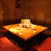 みんなで卓を囲んでお食事できるのは囲炉裏のお部屋ならではです。
