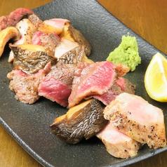 肉家くざんのコース写真
