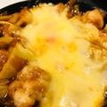 料理メニュー写真チーズタッカルビ 自家製コチュジャンソース
