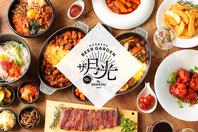 ユッケジャンスープ1杯無料!屋台メシと韓国料理を!