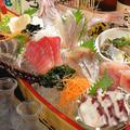 料理メニュー写真浜水7種盛り(舟)