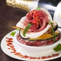 【お祝いに】差別化できる肉ケーキ♪