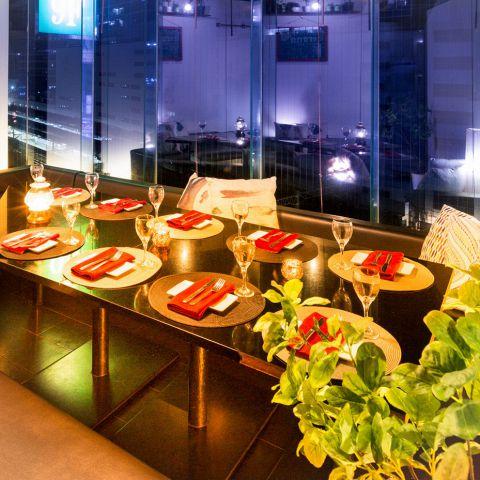 ◆新宿にNEWOPEN◆全席個室♪新宿の夜景を一望できる夜景個室でお客様だけの特別な一夜をお過ごし下さい。少人数から団体様迄、ご人数に適した個室席へご案内致します。飲み放題付プランは会社の飲み会や女子会、歓迎会、送別会など各種ご宴会にもお勧めです!
