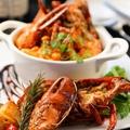 料理メニュー写真オマール海老のロースト&トマトソースパスタ