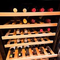 豊富な種類のワインのご用意がございます!