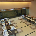 団体様ご利用 個室~座敷・テーブル各最大38名様~ 広間~最大60名様~