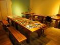 【テーブル席】大人数も対応可能!各種宴会も承ります♪