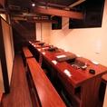 少人数からご利用できるテーブル席をご用意。会社宴会や飲み会にもおすすめのお席です!