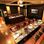 【14~20名様の完全個室】懇親会や達成会、結婚式2~3次会に◎VIP感溢れるゆったり空間♪