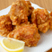 料理メニュー写真鶏のから揚げDeep fried chicken