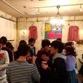 宴会や女子会、学生のパーティーなど15名様~貸切OK!コースも飲み放題がついて3500円~お得にお愉しみ頂けます!貸切パーティーや宴会でプライベートな時間をお愉しみ下さい♪