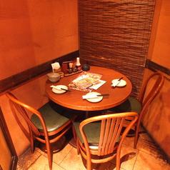 落ち着ける雰囲気ばっちりの店内◎デートにもお使いいただけるお席です♪【橋本/居酒屋/飲み放題】