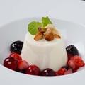 料理メニュー写真マスカルポーネのブランマンジェ