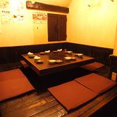 大人気の個室はご予約をおすすめ致します!