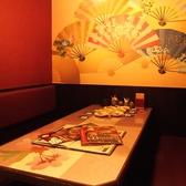 【6名席】ゆったり座れる半個室席☆
