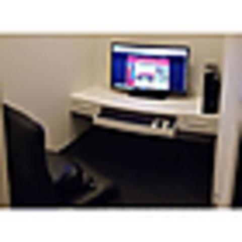 【5時間パック】テレワーク対応ペア鍵付完全個室プライベートルーム
